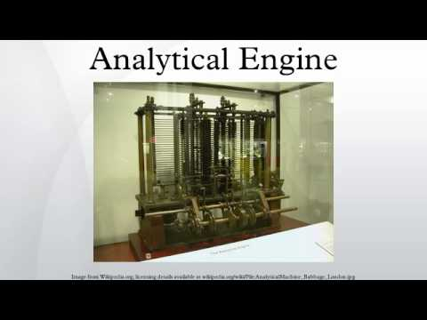 Analytical Engine Diagram