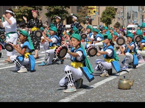 20140914フェスタまちだ2014町田エイサー祭り(和光鶴川小学校)