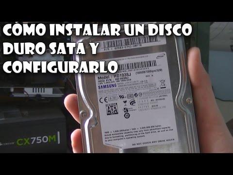 Cómo instalar un DISCO DURO extra en nuestro ordenador (SATA)