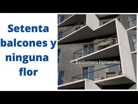 Poemas cortos - Poemas de Baldomero Fernández, setenta balcones y ninguna rosa