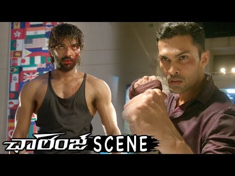 Jai Boxing With Ashwin - Stunning Fight Scene - Challenge Latest Movie Scenes