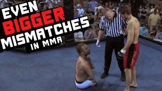 Najdziwniejsze walki w MMA