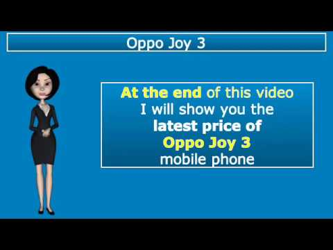 Oppo Joy 3 Mobile Latest Price in Pakistan and Specifications