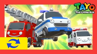 Download Lagu 1 HOUR LOOP The Brave Cars l Tayo's Sing Along Show 1l  Tayo the Little Bus Mp3