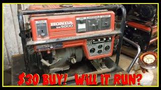 4. Buy & Sell - Part 1: $30 Honda EM5000 Generator Buy