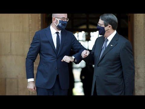 Σαρλ Μισέλ: «Είμαστε εδώ με σαφές και αποφασιστικό μήνυμα αλληλεγγύης προς την Κύπρο»…
