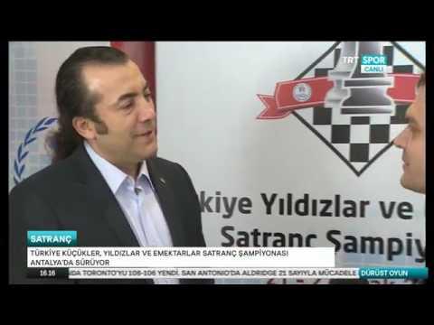 TRT Spor - Dürüst Oyun Programı - Türkiye Küçükler, Yıldızlar ve Emektarlar Şp. - 26 Ocak 2017