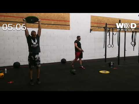 Wod 3 fittest of MAGMA Alex GIBLAIN (видео)