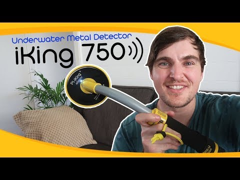 Treasure Hunting Tech: The PI-iKing 750 Underwater Metal Detector | Unboxing and Review