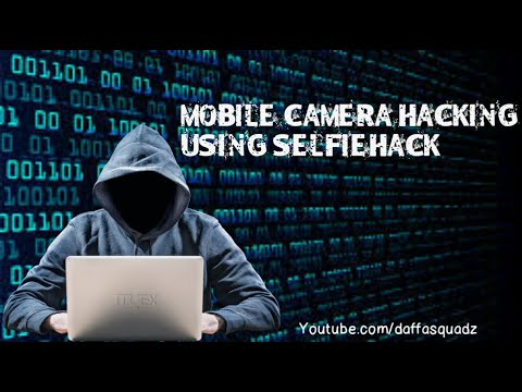 Mobile & PC camera hacking with selfie hacking