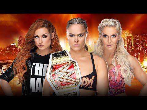 WWE Wrestlemania 35 Becky Lynch vs Charlotte Flair vs Ronda Rousey FULL Match