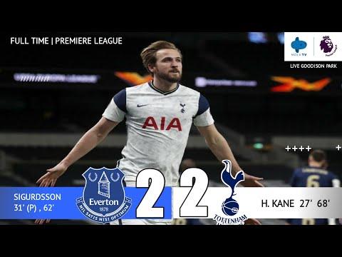 Hasil liga inggris tadi malam 2021 terbaru   EVERTON VS TOTTENHAM   the English league results last
