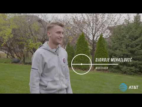 Video: At Home with the Homegrown | Djordje Mihailović on AT&T Center Circle