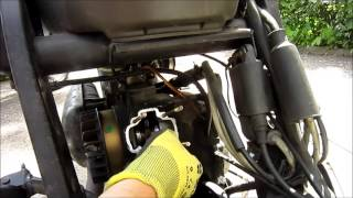 8. how to change a piston / cylinder - Piaggio 50ccm 2 Stroke