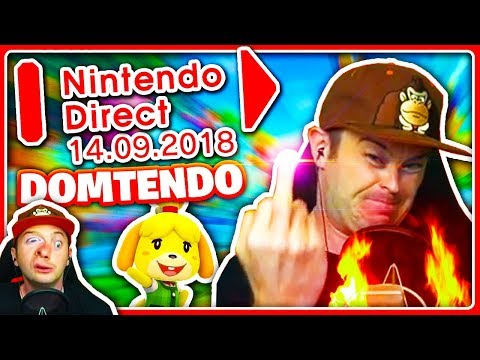 Best of Domtendo • Nintendo Direct Reaction (14.09.2018) - \