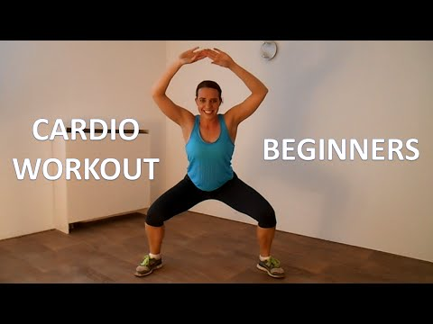 20 Minute Cardio Workout For Beginners – Cardio Workout Routine Without Equipment At Home