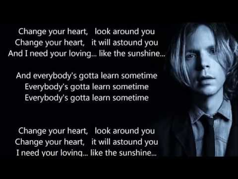 Beck - Everybody's Gotta Learn Sometimes - HQ - Scroll Lyrics -