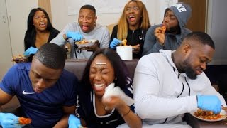 Download Video SPICY WINGS CHALLENGE  *UNI EDITION* MP3 3GP MP4