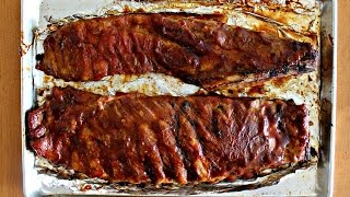 On this episode of Bachelor on a Budget I show you how to cook ribs in the oven. This Oven Baked Ribs recipe is amazingly tasty and the best I've made.