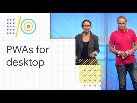PWAs: building bridges to mobile, desktop, and native (Google I/O '18) (видео)