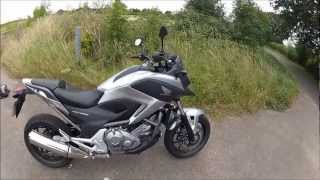 10. Honda NC700X Test Ride 2012