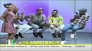 Sauti sol band live on Str8up show