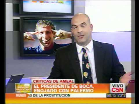 C5N - DEPORTES: AMEAL CRITICO A PALERMO