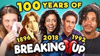Video Generations React To 100 Years Of Celebrity Breakups MP3, 3GP, MP4, WEBM, AVI, FLV Juni 2019