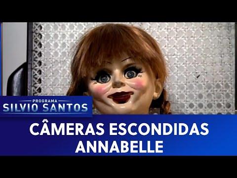 安娜貝爾」消失又出現 巴西整人節目讓清潔工狂叫