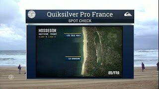Dawn Patrol 10/7/2015 - Quik Pro France- Interview with Tom Curren