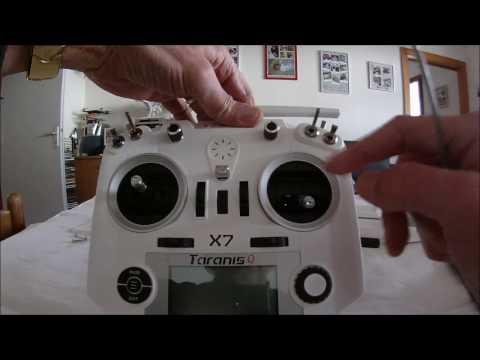 Test de la radio Taranis Q X7 pour BangGood (Français)