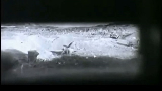 Landing of 3rd Division Marines and tank slit views of action on the front lines of Iwo Jima are highlighted in this US Navy footage from the desperate battl...