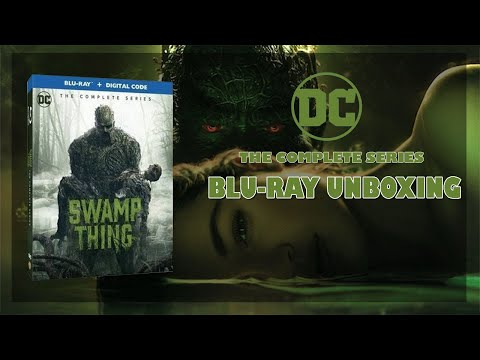 Swamp Thing The Complete Series Blu-Ray Unboxing