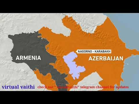 Armenia Azerbaijan conflict Tamil Armenia Azerbaijan problem