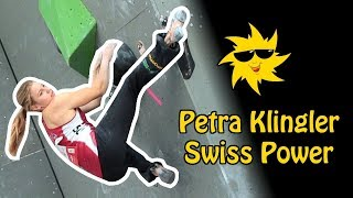 Petra Klingler, Swiss Power | Sunday Sends by OnBouldering