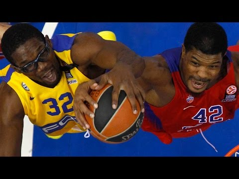 Highlights: CSKA Moscow-Maccabi Fox Tel Aviv