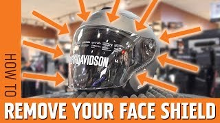 How to Remove Your Face Shield