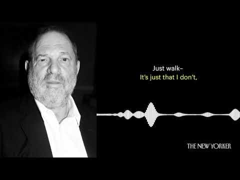 Harvey Weinstein leaked audio
