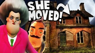 HELLO NEIGHBOR'S SISTER MOVED TO THE CREEPIEST HOUSE! | Hello Neighbor Mobile Game Rip Off
