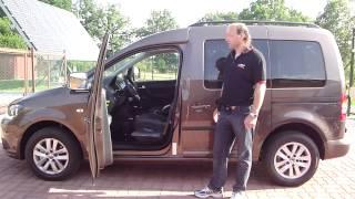 Mech. přesedací zařízení - zvedací - místo řidiče 001 ve voze VW Caddy