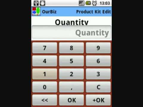 Video of OurBiz Business on our Pocket