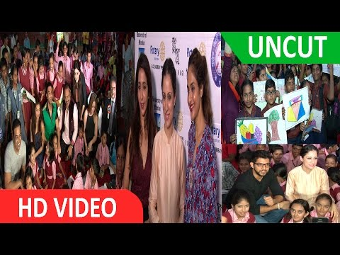 Daisy Shah & Krishika Lulla At World Deaf Day Camp & Cultural Acitivites