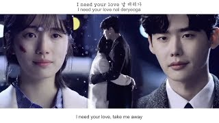 Eddy Kim (에디킴) - When Night Falls (긴 밤이 오면) FMV (While You Were Sleeping OST Part1)[Eng Sub]