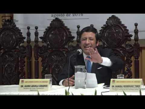 Evaluación y control del CNM - IX Congreso Nacional de Jueces -Chiclayo - 20/8/16