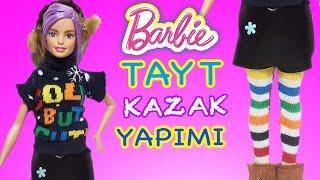 Video Barbie Oyuncak Bebekler için Tayt ve Kazak | Nasıl Yapılır | Oyuncak Butiğim MP3, 3GP, MP4, WEBM, AVI, FLV November 2017