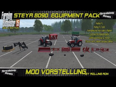 Steyr 8090 SK2 Equipment Pack v1.0