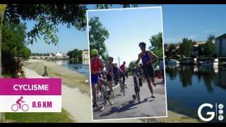 Triathlon XS de Gray - Le parcours
