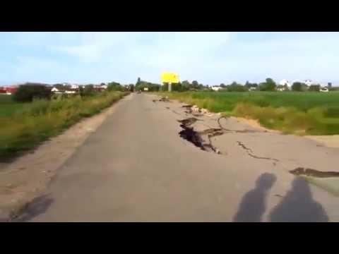 The harsh russian roads