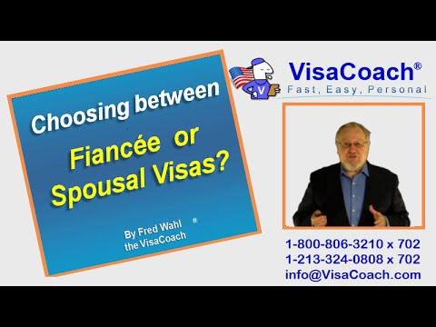 Choosing between Fiancee K-1 Visa, Spousal K-3 Visa or Spousal CR-1 Visas?