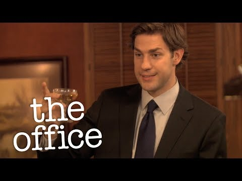 Jim's Wedding Toast To Pam  - The Office US